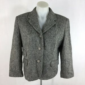 Boston Proper Blazer Wool Blend Career Jacket